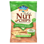 Blue Diamond Nut Chips™ - Sour Cream and Chive
